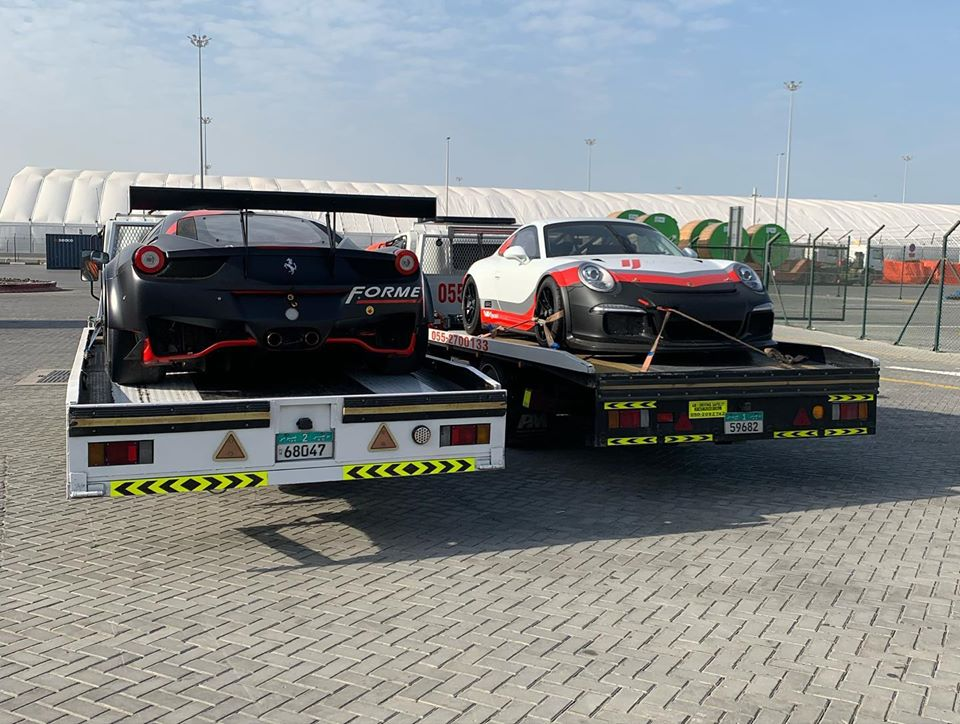 Car towing service in Abu Dhabi