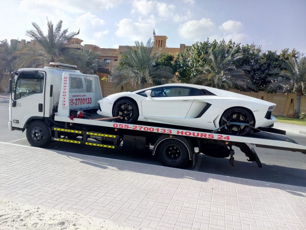 flatbed sports car recovery